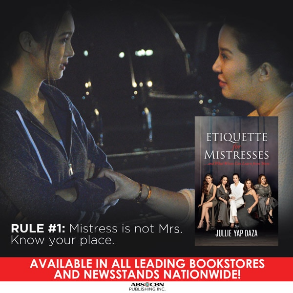 10 rules from 'Etiquette for Mistresses' book | ABS-CBN News