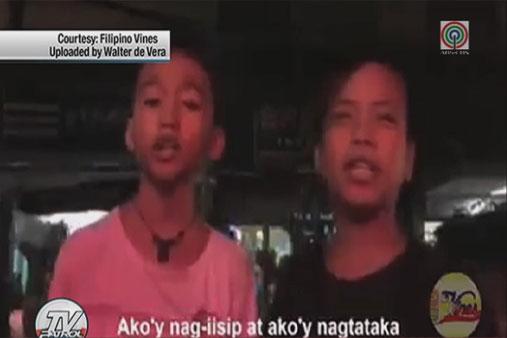 PANOORIN: Maiikling bidyo na mala-Popoy at Basha