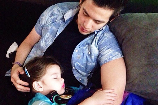 LOOK: Daddy-princess moments of Jake, Andi's daughter