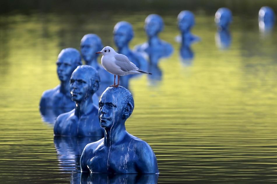 Art installation illustrates climate impacts