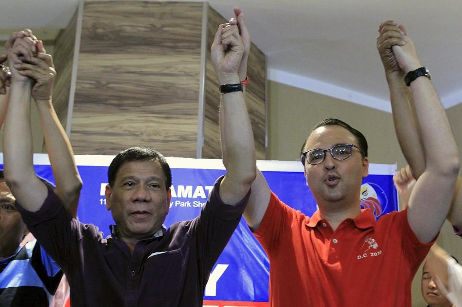 Duterte and Cayetano proclaim candidacies