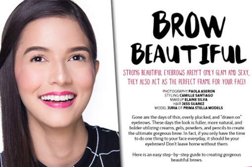Want beautiful brows? Try these products