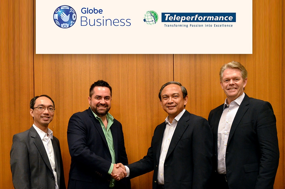Teleperformance signs with Globe Business for wireline and wireless needs