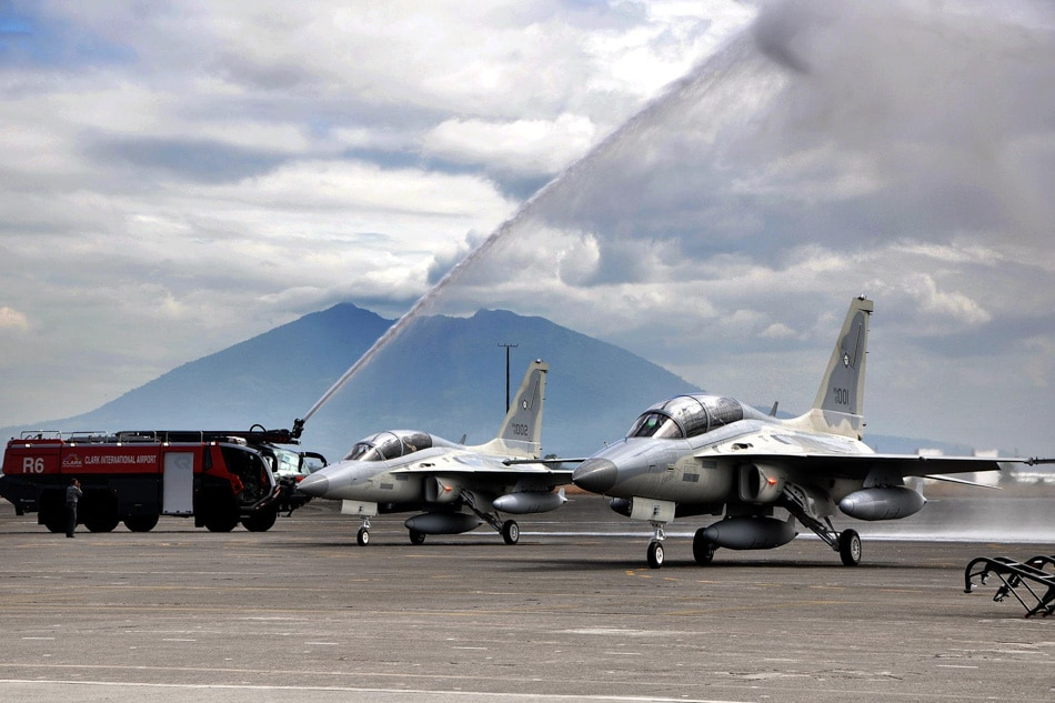 New jets for Philippine Air Force;