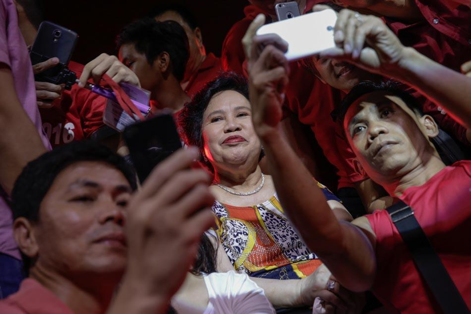 Miriam courts youth vote