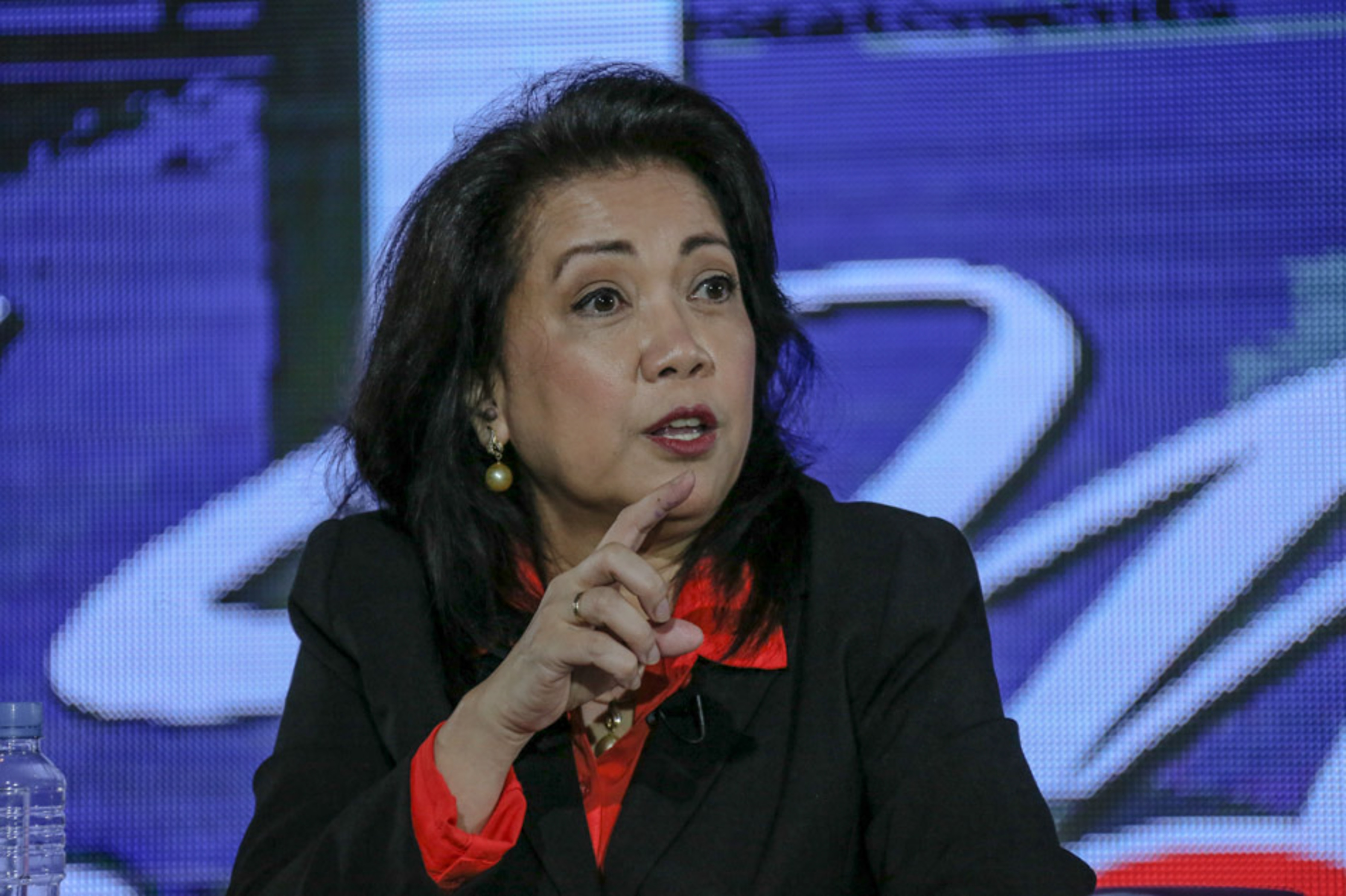 Sereno refuses to comment on drug-related killings