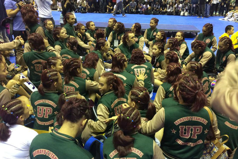 UP Pep Squad to skip UAAP cheerdance competition 1