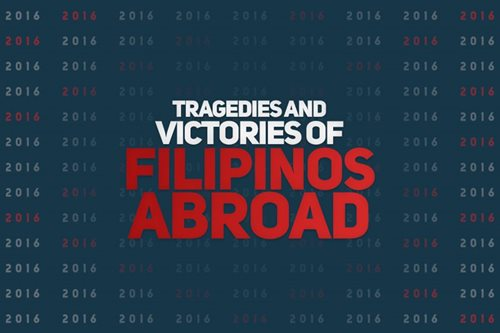 Tragedies and victories of Filipinos abroad