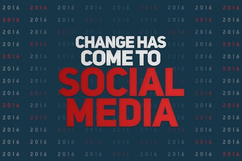 Change has come to social media