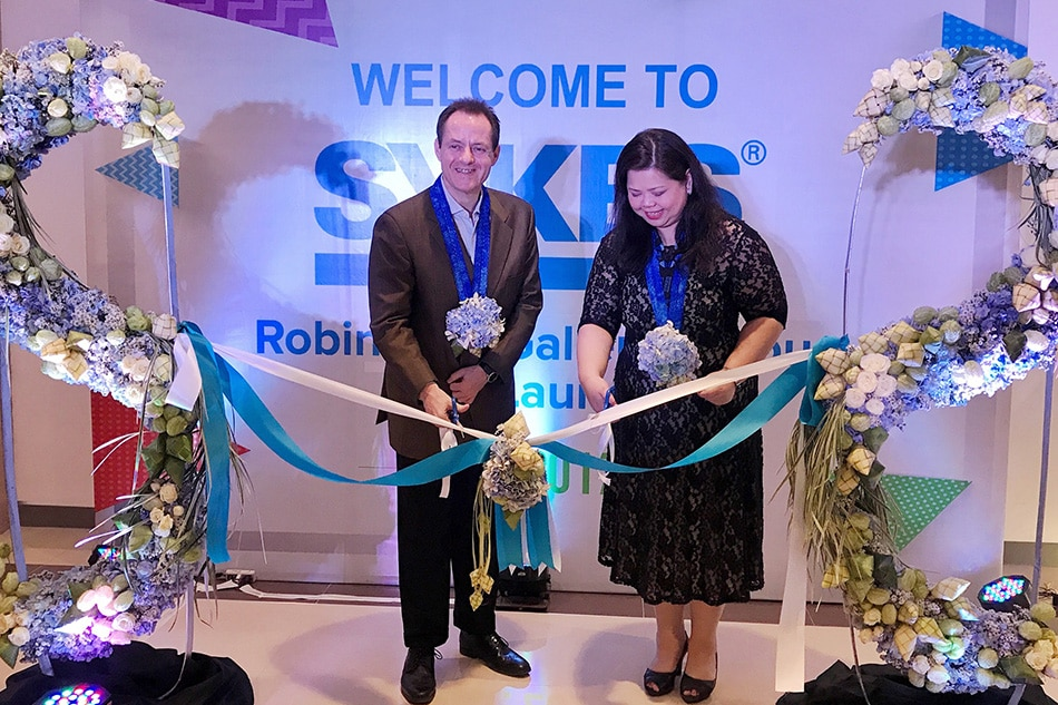 SYKES inaugurates new site in Robinsons Galleria Cebu