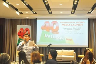 P1.6-M worth of Wilcon e-gc await at 'Wilcon 40 Years Raffle Promo'