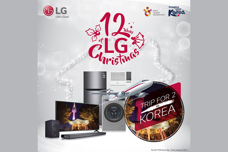 LG Electronics to give away amazing holiday treats to lucky customers