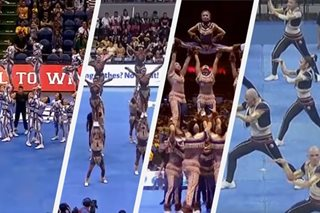 A look back on winning UAAP cheerdance performances