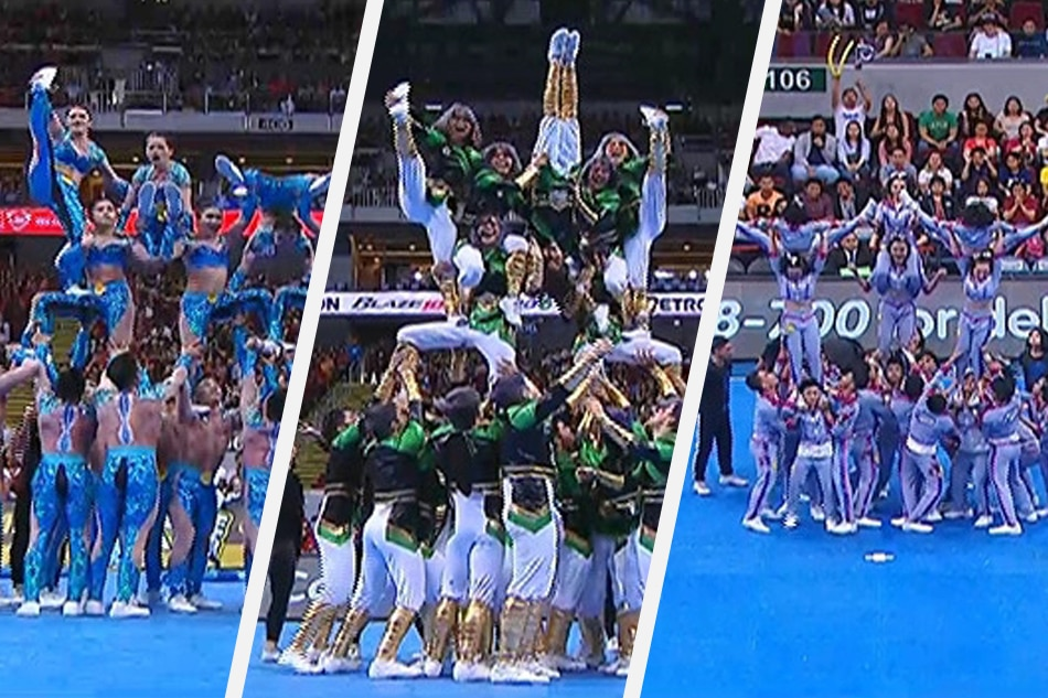 Passionate routines as squads show hungry for UAAP cheerdance crown