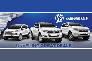 Ford Philippines unveils year-end sale offers
