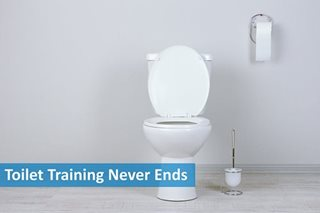Toilet training never ends: The difference between clean and hygienic