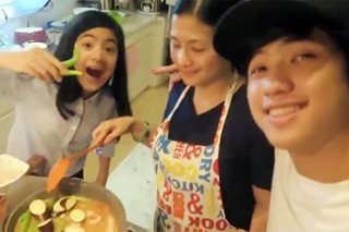 WATCH: Ranz and Niana share with us how mom prepares sinigang