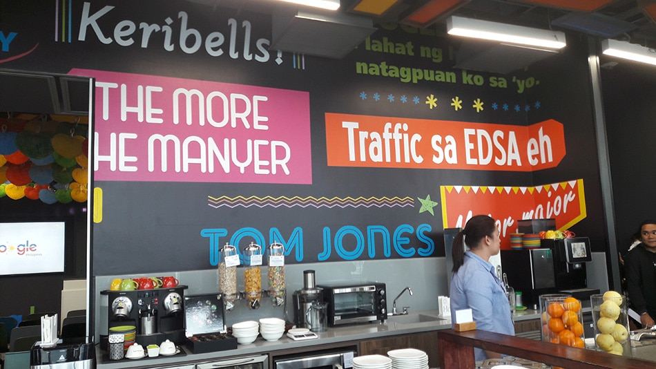 Look Inside Google S Philippine Headquarters Abs Cbn News