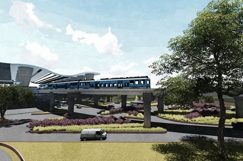 LOOK: Proposed design of MRT-LRT common station
