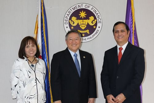 New National Treasurer, PDIC chief sworn into office