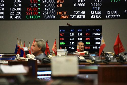 PH shares extend slump as peso weakens further