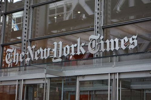 NY Times teams with Spotify for music-news offering