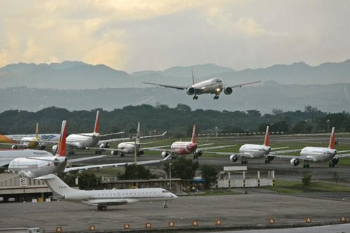 NAIA flights back to normal, says manager
