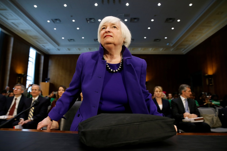 Fed chair Yellen briefly hospitalized in London