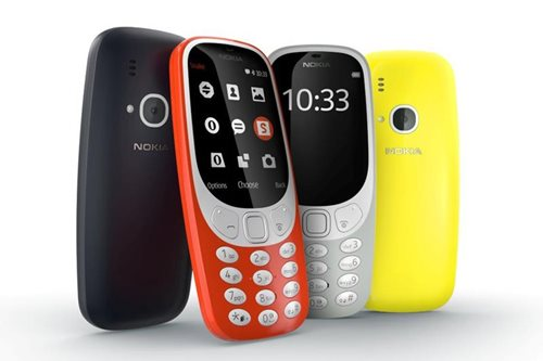 Nokia 3310 returns with Snake, month-long battery