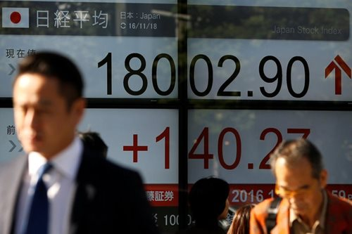 Asian shares slip on US protectionism fears