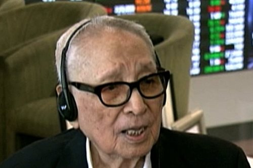 Philippines' oldest stockbroker dies at age 103