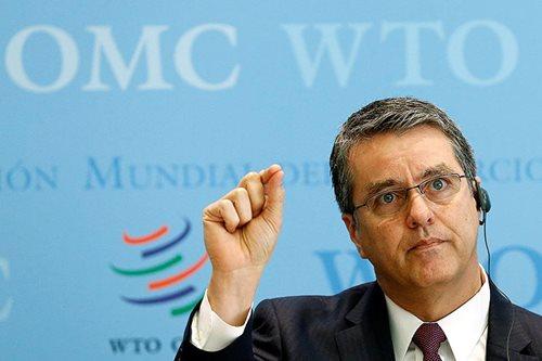 WTO chief downplays Trump withdrawal threat