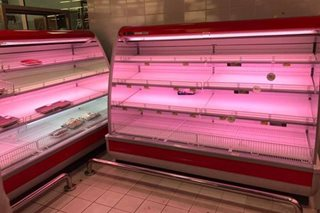 LOOK: Almost empty grocery shelves in Doha as residents stock food