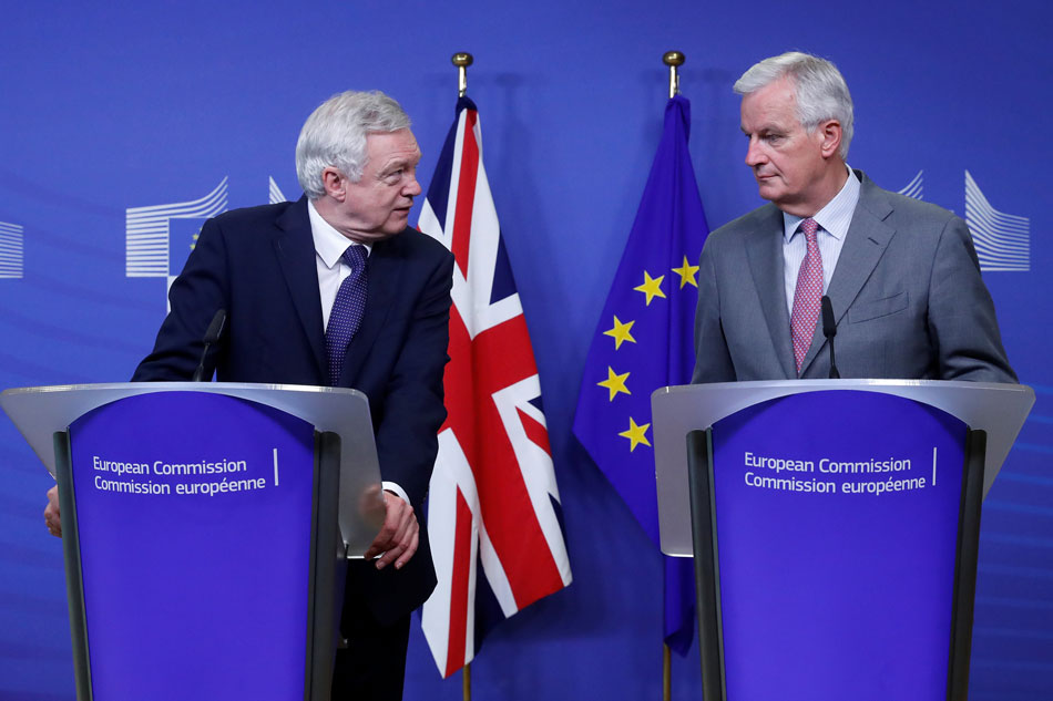 Second Round of Brexit Talks Kicks Off in Brussels