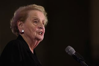 'The world is a mess': Albright rallies world democracies