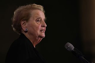 US, Philippines share 'crucial' alliance, Albright says