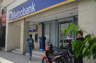Metrobank says arrest made after P900-M fraud report