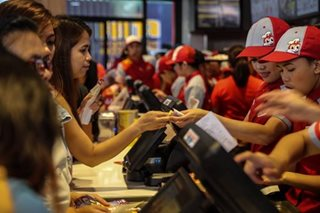 Jollibee net income rises 18.1 pct to P1.96B in 2nd quarter
