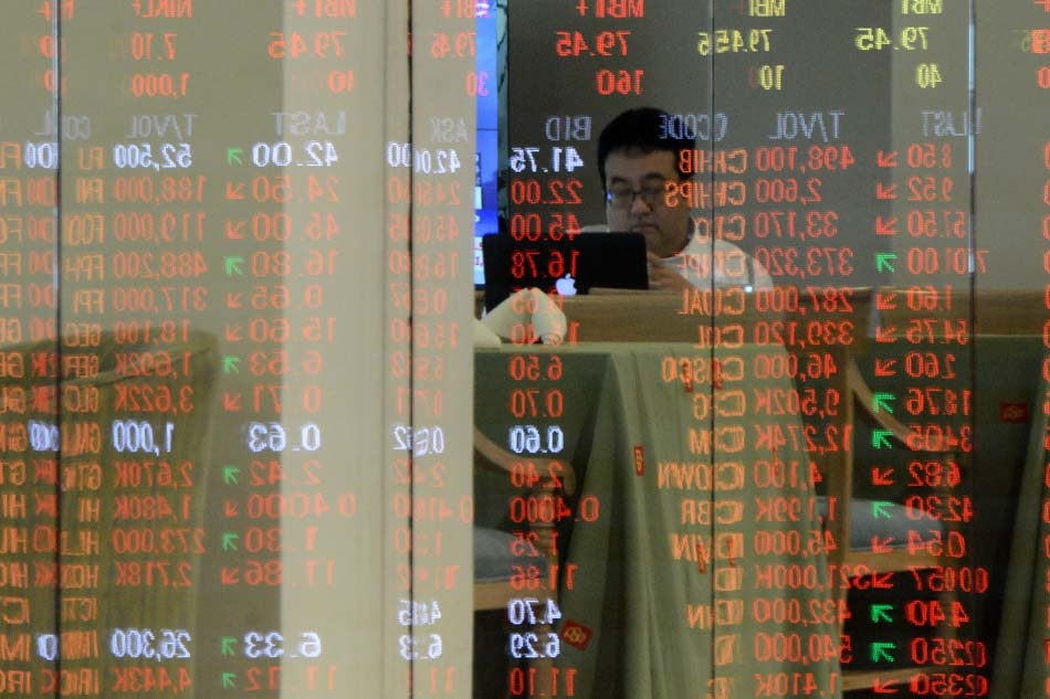 PH shares lower amid US-China trade tensions
