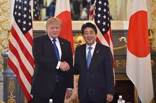 Trump says to push Japan for freer trade; calls ties better than ever