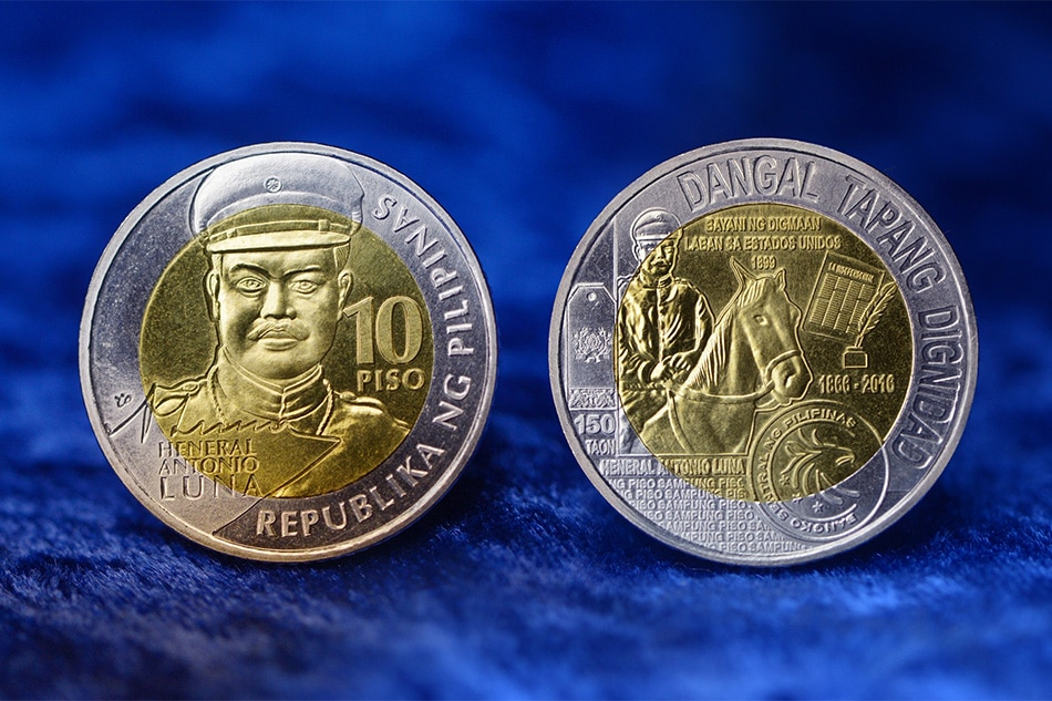 Heneral Luna Featured In P10 Commemorative Coin