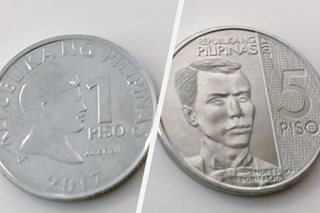 Coin confusion: BSP highlights P5, P1 coin differences