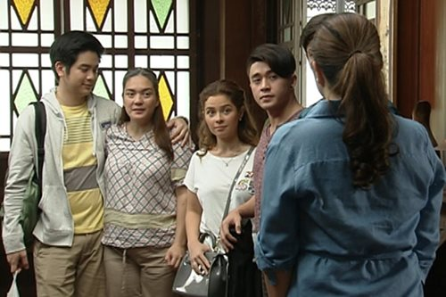 SILIPIN: Taping ng 'The Greatest Love'