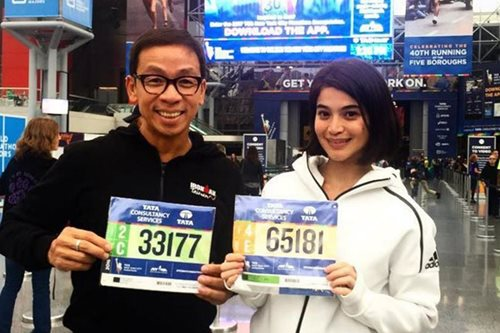 Anne Curtis, Kuya Kim will run the Boston Marathon