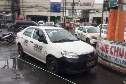 Away-trapiko nauwi sa panununtok; taxi pinagbabaril pagkatapos