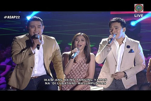 WATCH: Sarah, Jed, Erik perform 'Tanging Yaman'