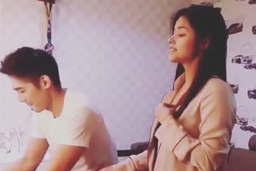 VIRAL: Liza sings 'Thinking Out Loud' with Robi