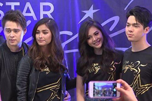 Mga bigating artista, nagsama-sama sa kickoff ng Star Magic anniversary