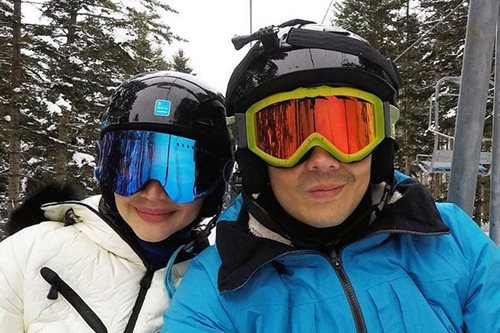 Anne Curtis goes snowboarding for first time with Erwan