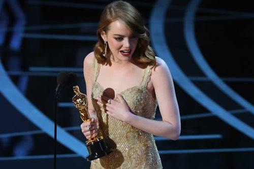 Emma Stone tops list of best paid actresses